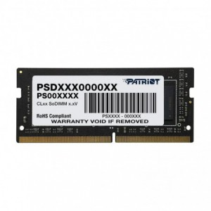 Patriot Signature Line 8GB 3200MHz DDR4 Single Rank SODIMM Notebook Memory