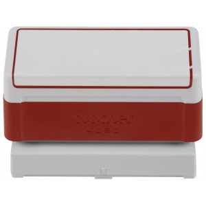 Red Stamp (40 X 90MM) for Brother Stamp Creator