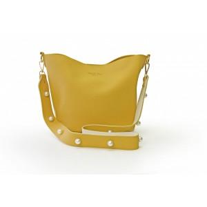 Pearl Shoulder Bag - Tan