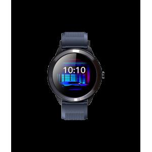 Astrum Wireless Bluetooth IP68 Sports Round Metal Smart Watch - Blue