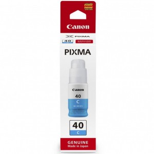 Canon GI-40C Cyan Ink Bottle for GM2040/ G5040/ G6040