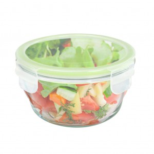 HomeMax Round Glass Food Container-300ml