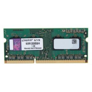 Kingston Value RAM 4GB 1333MHz PC3-10600 DDR3 Non-ECC CL9 SODIMM SR X8 Notebook Memory