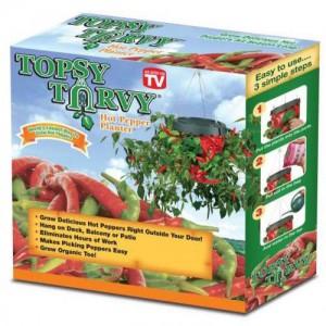 Homemark Topsy Turvy Hot Pepper Planter