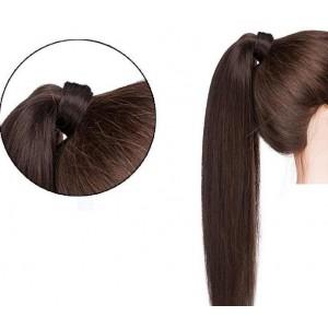 Hollywood Hair Ponytail Hair Piece - Dark Brown