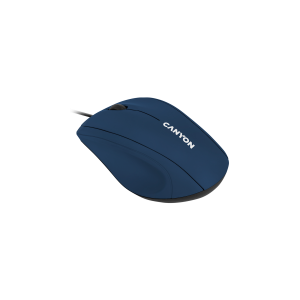 Canyon Wired Optical Mouse with 3 Keys - Blue