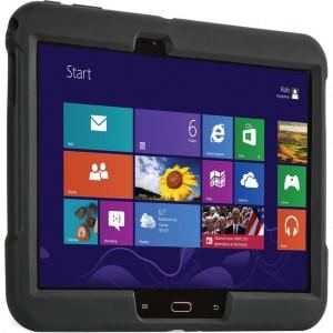 Kensington - BlackBelt™ 1st Degree Rugged Case for Galaxy Tab® 4/3 10.1 — Black