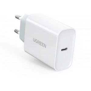 Ugreen USB-C 30W QC4/Power Delivery 3.0 Wall Charger - White