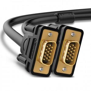 Ugreen VGA Male to VGA Male 1080p 1m Cable - Black
