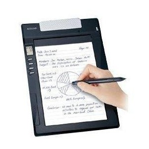 Genius G-Note 5000 A5-Size Digital Notepad with Pen