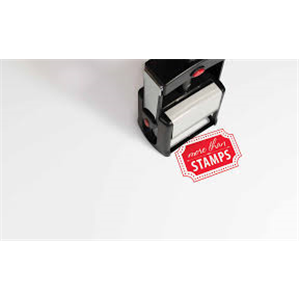 Flash Stamp Size 13X41 (5 Pack)