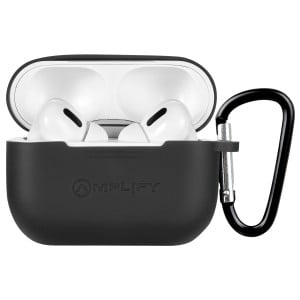 Amplify Note X Series TWS Earphones + Charging Case - White Case + Black Cover