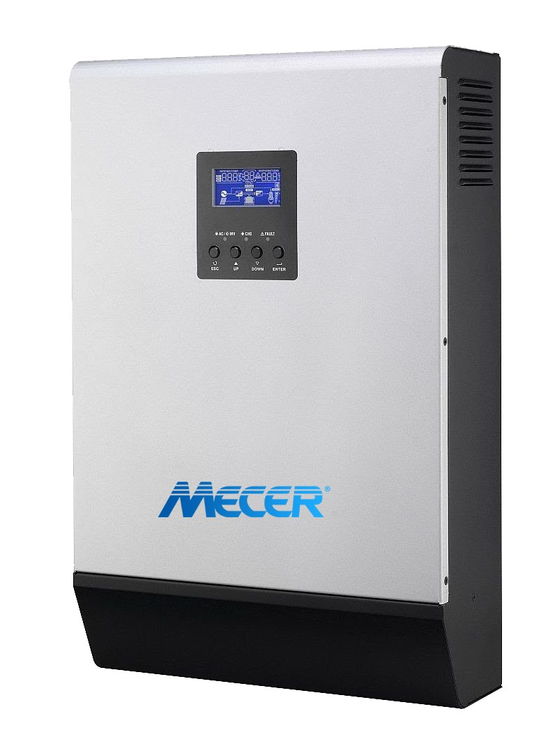 Mecer Off Grid Mks Plus 24v 3000va 2400w Pure Sine Wave Solar Inverter Design With Code Report Charger 1500w Mppt Geewiz