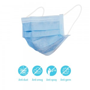 PPE 3 Ply Disposable Mask