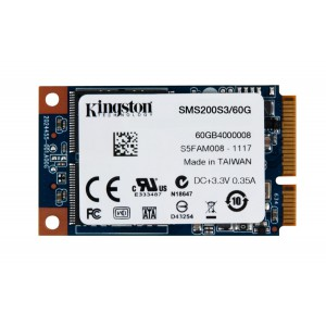 Kingston Digital 60GB SSDNow mS200 mSATA (6Gbps) Solid State Drive