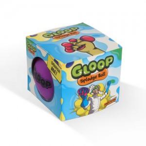 Gloop Splodge Ball 110mm Purple to Pink