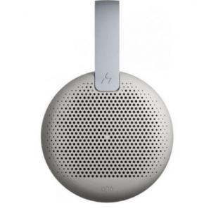 Haki Mars Portable Waterproof Bluetooth Speaker - Light Grey