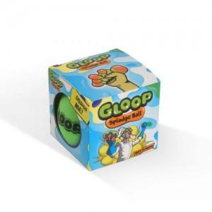 Gloop Splodge Ball 80mm Green to Orange