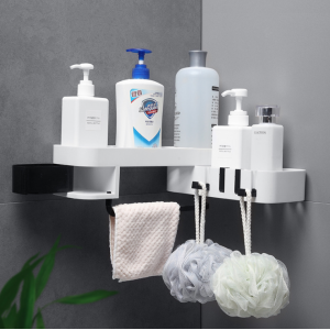 Fine Living - Rotating Shower Caddy - Grey