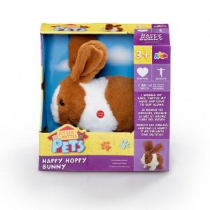 Pitter Patter Pets Happy Hoppy Bunny - Light Brown