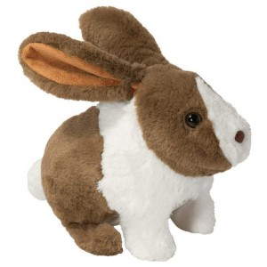 Pitter Patter Pets Happy Hoppy Bunny - Dark Brown