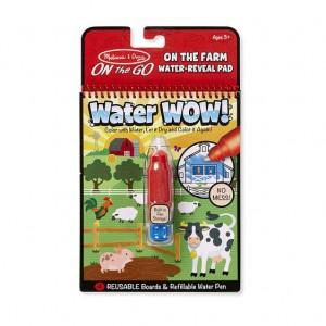 Melissa & Doug Water Wow! Farm - On The Go Travel Activity