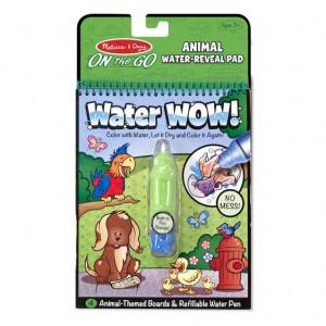 Melissa & Doug Water Wow! Animals - On The Go Travel Activity