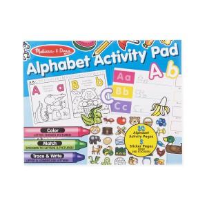 Melissa & Doug Alphabet Activity Sticker Pad for Colouring