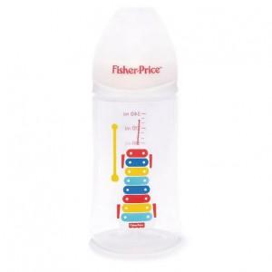Fisher Price - Wideneck Baby Feeding Bottles - 240ml