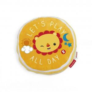 Fisher Price - Lion Cushion - Orange