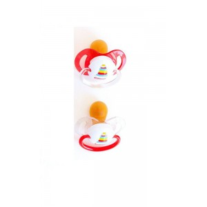 Fisher Price - Baby Pacifier Orthodontic - Set of 2