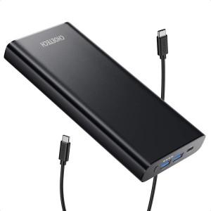 CHOETECH 26800mAh Portable USB-C Dual Power Bank Battery Charger PD 3.0 100W
