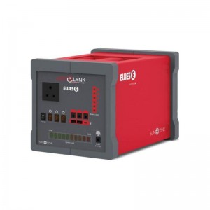 ELLIES Cube Mega 150Wh LIFEPO4 Power Station 24V 6Ah Power Bank Inverter Mini UPS