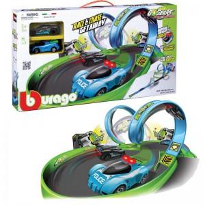 Bburago Go Gears Getaway Playset With 2 Cars