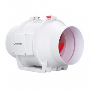Vtronic 6″ Mixed Flow Inline Duct Fan