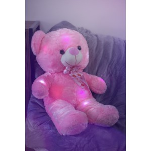 Jerenimo - LED Teddy Bear - Pink