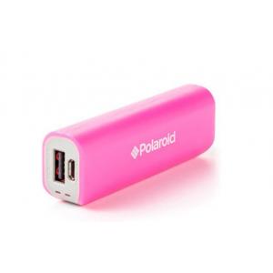 Polaroid 2200mAh External USB Power Pack - Pink