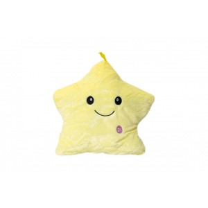 Jerenimo - Twinkle Little Star LED Pillow - Yellow