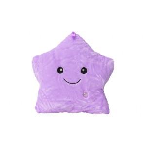 Jerenimo - Twinkle Little Star LED Pillow - Purple