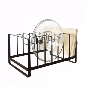 Refined Lid Stacking Rack