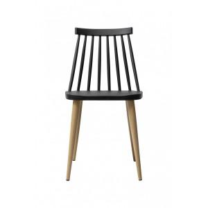 Tanoshi Cafe Chair - Black
