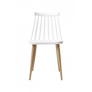 Tanoshi Cafe Chair - White
