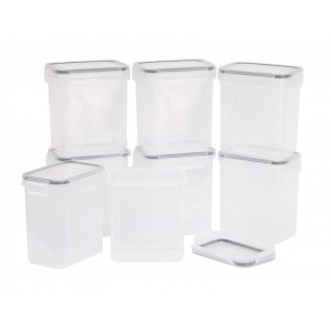 Stack'nStore 8pc Food Storage Set
