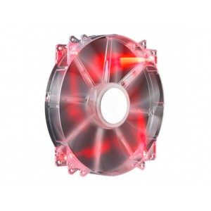 Cooler Master: MegaFlow 200 Red LED Silent Fan