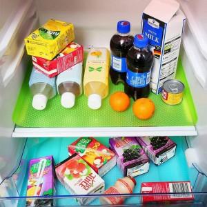 Antibacterial Fridge Shelf Mat - Blue