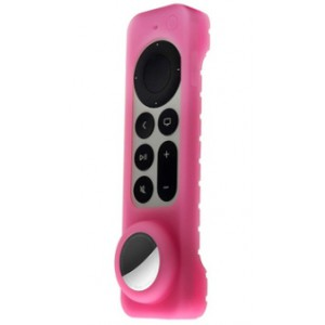 Silicon Cover for Apple TV Siri Remote (6th gen) with built in Apple Airtag Holder