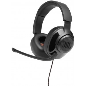 JBL Quantum 200 Wired Over-Ear Gaming Headphones