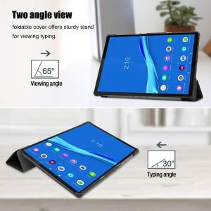 Tuff-Luv Smart Case Stand Lenovo Tab M10 TB-X606X FHD Plus - Black