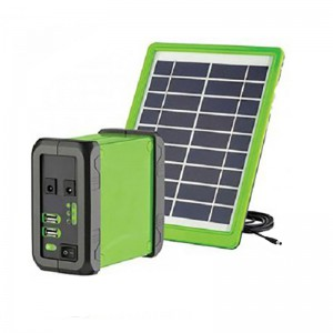 Ellies Portable Solar PV Power Bank with 60Wh Lithium-ion Battery