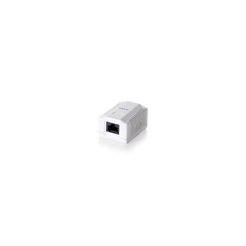Equip 235211 Wallbox, Cat6E UTP 1-port